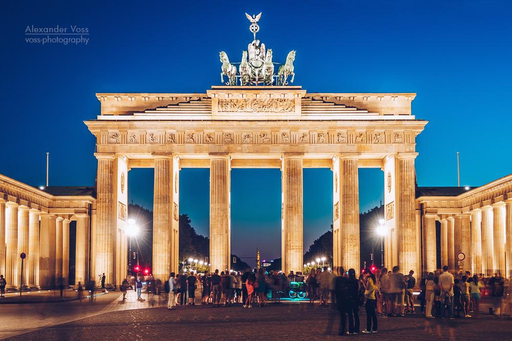 Brandenburg Gate Berlin Photo Berlin Brandenburg Gate