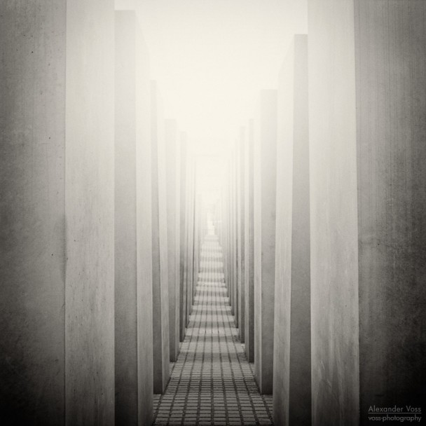 Analog Photography: Berlin - Holocaust Memorial