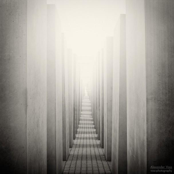 Analoge Fotografie: Berlin - Holocaust-Mahnmal