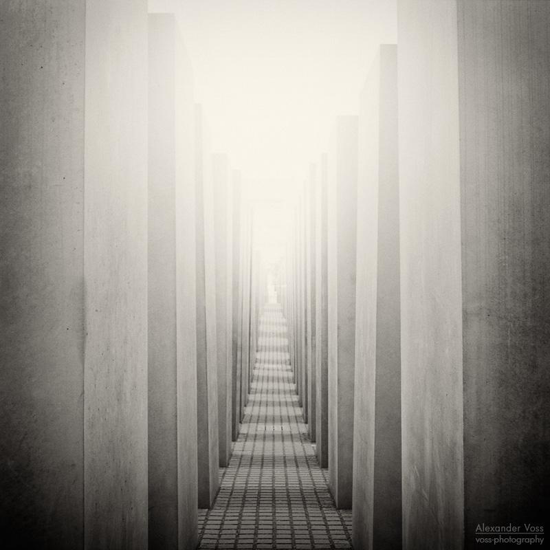 Analog Photography: Berlin - Holocaust Memorial