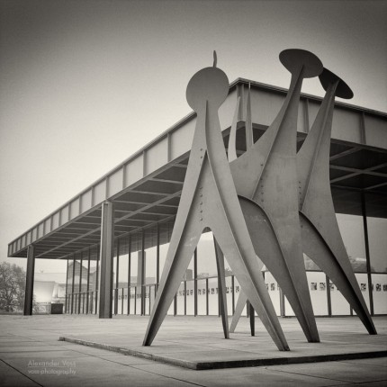 Analog Photography: Berlin – Neue Nationalgalerie