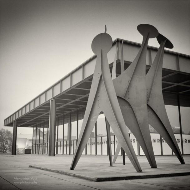 Analog Photography: Berlin - Neue Nationalgalerie