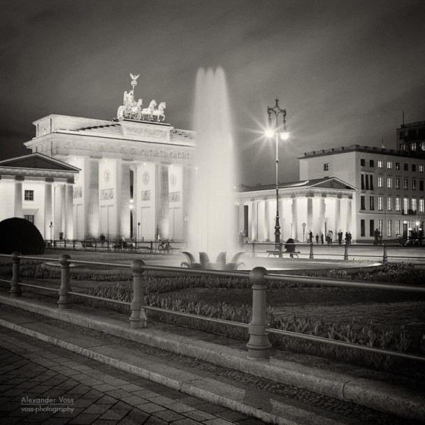 Analoge Fotografie: Berlin - Pariser Platz