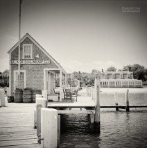 Analoge Fotografie: Martha's Vineyard – Black Dog Wharf