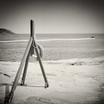 Analog Photography: Saint Lawrence River