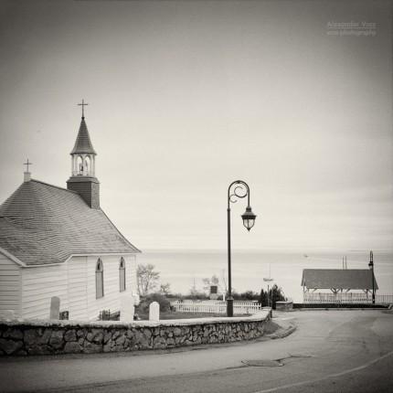 Analog Photography: Tadoussac, Quebec