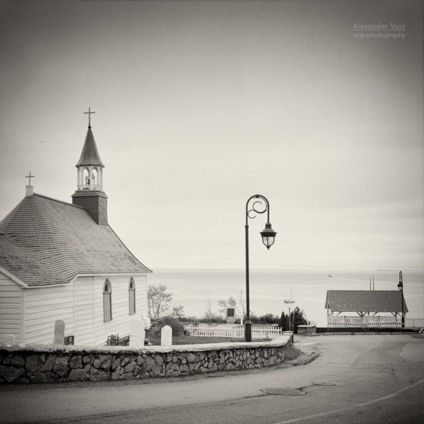 Analog Photography: Tadoussac, Quebec