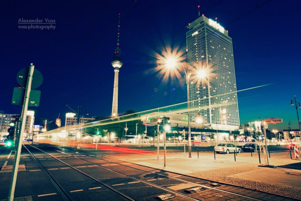 Berlin at Night: Alexanderplatz