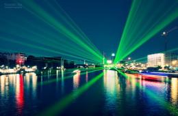 Berlin bei Nacht – Aquarella