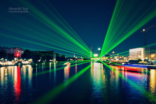 Berlin at Night - Aquarella