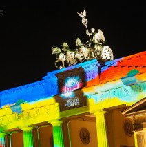 Berlin – Brandenburger Tor, Festival of Lights 2013