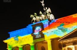 Berlin – Brandenburger Tor, Festival of Lights 2013