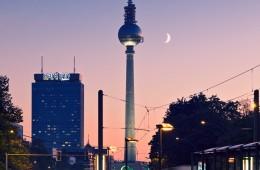 Berlin – Fernsehturm / Sonnenuntergang