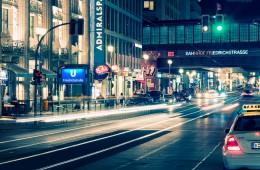 Berlin – Friedrichstrasse bei Nacht
