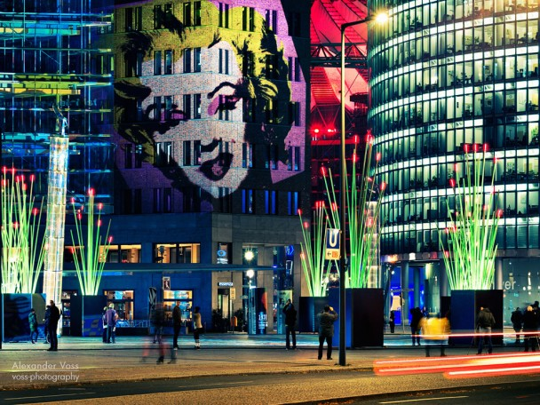 Berlin - Potsdamer Platz, Festival of Lights 2013