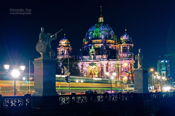 Berlin Cathedral - Festival of Lights 2013