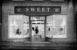 Schwarz-Weiss-Fotografie: Boston – Sweet Cupcakes