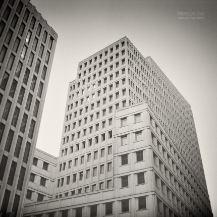 Analog Photography: Berlin – Beisheim Center