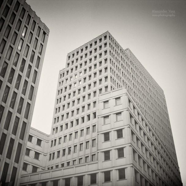 Analoge Fotografie: Berlin - Beisheim Center