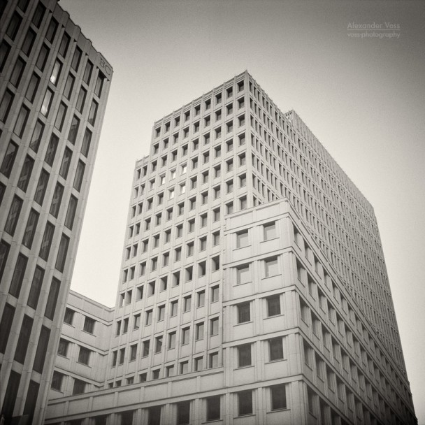 Analog Photography: Berlin - Beisheim Center