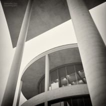 Analog Photography: Berlin – Government District / Paul Loebe Building