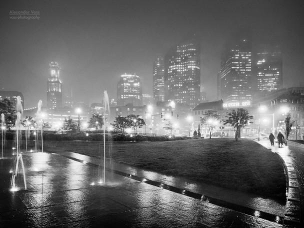 Boston Black and White