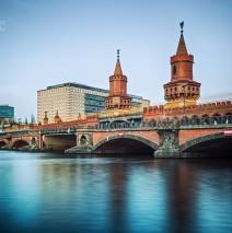 Berlin – Oberbaumbrücke (Langzeitbelichtung)