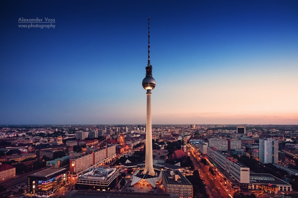 Berlin - Blick über die Stadt