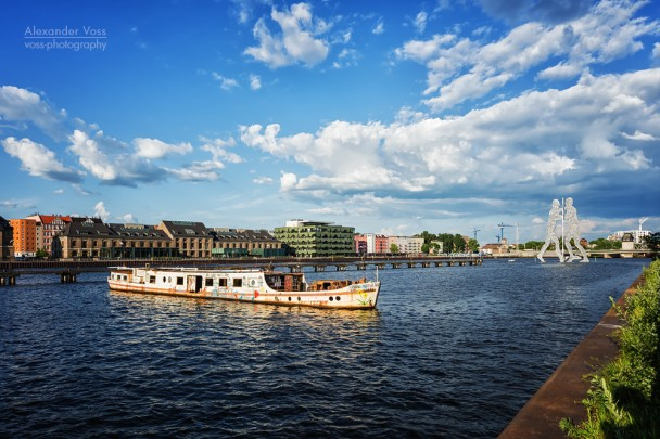 Berlin - Osthafen / Spree River