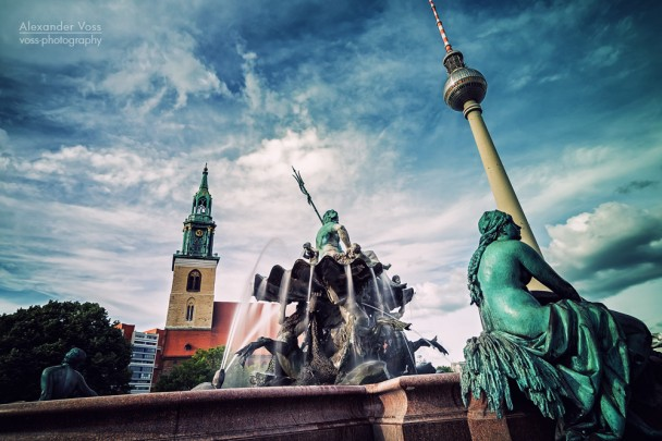 Berlin - Neptune Fountain