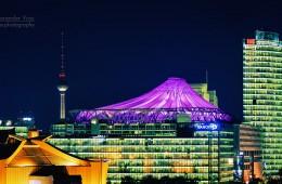 Berlin – Sony Center Skyline
