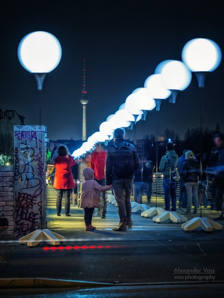 Berlin - Schwedter Steg / Lichtgrenze