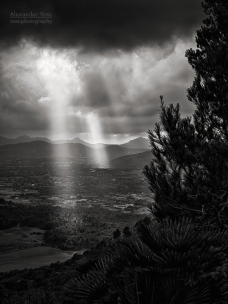 Landscape Photography Black and White: Majorca