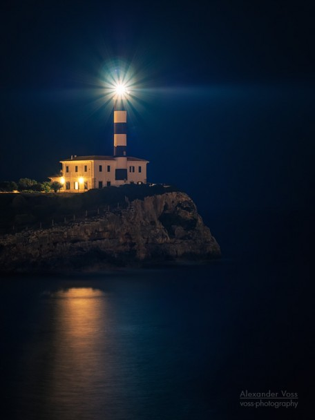 Lighthouse of Portocolom (Majorca)