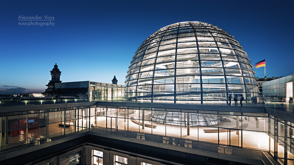 Architectural Photography Berlin Reichstag Dome Alexander Voss