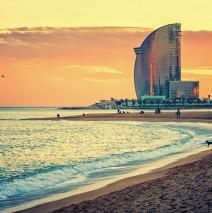 Barcelona – La Barceloneta Strand