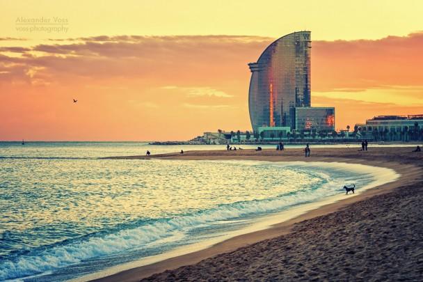 Barcelona - La Barceloneta Strand