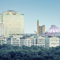 Berlin Skyline / Potsdamer Platz