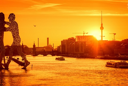 Osthafen Berlin – Sunset Skyline