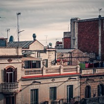 Barcelona – Dachlandschaft