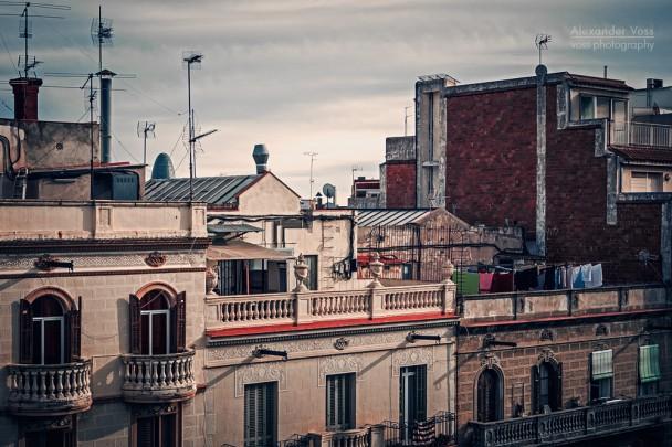 Barcelona - Dachlandschaft