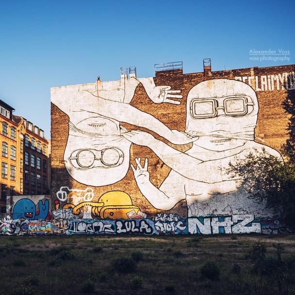 Berlin - Street Art / Cuvry-Brache