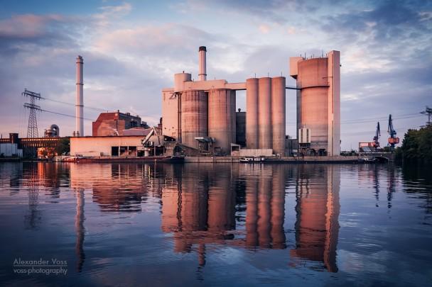 Industriefotografie: Zementwerk Berlin / Kraftwerk Klingenberg