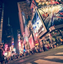 New York – Times Square bei Nacht
