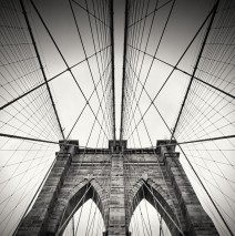 Schwarzweiss-Fotografie: New York – Brooklyn Bridge