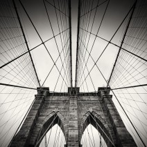 Black and White Photography: New York City – Brooklyn Bridge