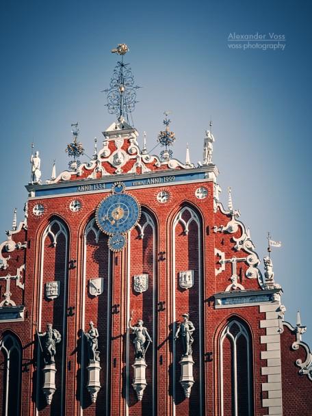 Riga - Schwarzhäupterhaus