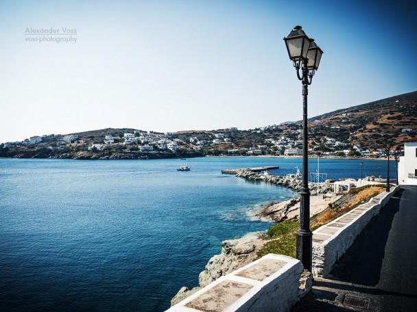 Andros Island - Batsi (Greece)