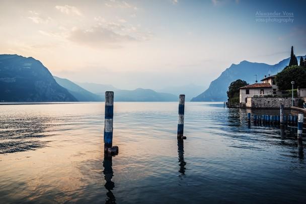 Lago d'Iseo (Italien)
