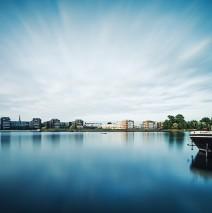 Langzeitbelichtung: Berlin – Rummelsburger Bucht
